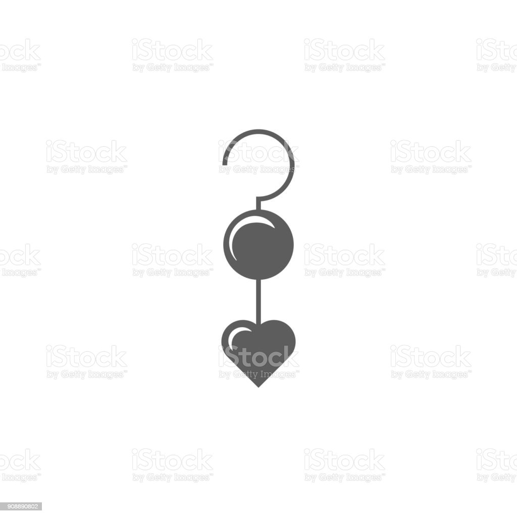 earrings with heart icon. Elements of Valentine's Day icon. Premium quality graphic design icon. Simple icon for websites, web design, mobile app, info graphics earrings with heart icon. Elements of Valentine's Day icon. Premium quality graphic design icon. Simple icon for websites, web design, mobile app, info graphics on white background Azerbaijan stock vector