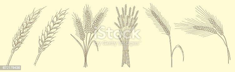 Wheat Sheaf Clipart , Transparent Cartoon - Jing.fm