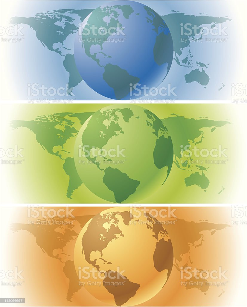 Earth banners royalty-free earth banners stock vector art & more images of africa