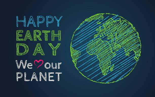 bildbanksillustrationer, clip art samt tecknat material och ikoner med earth dag 22 april - recycling heart