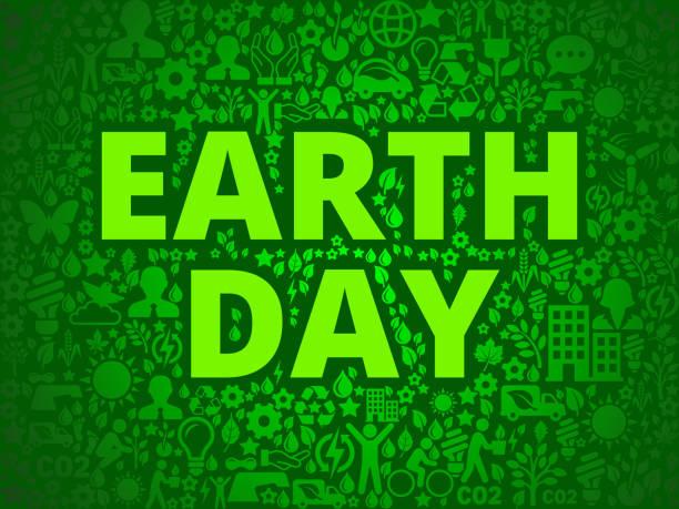 earth day umweltschutz vektormuster symbol - altglas stock-grafiken, -clipart, -cartoons und -symbole