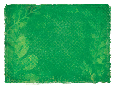 Earth Day Green Environment Nature Recycling Grunge Watercolor Background