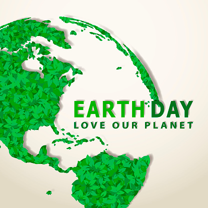 Earth Day Leaves Planet