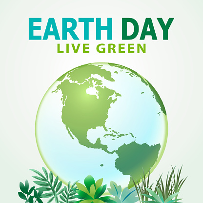 Earth Day Planet Live Green