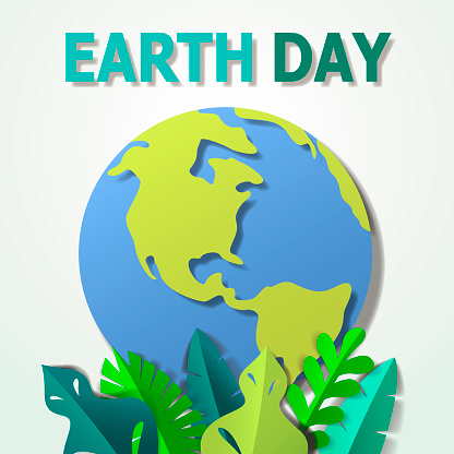 Earth Day Planet Paper Craft