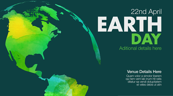 Earth Day Poster or Template