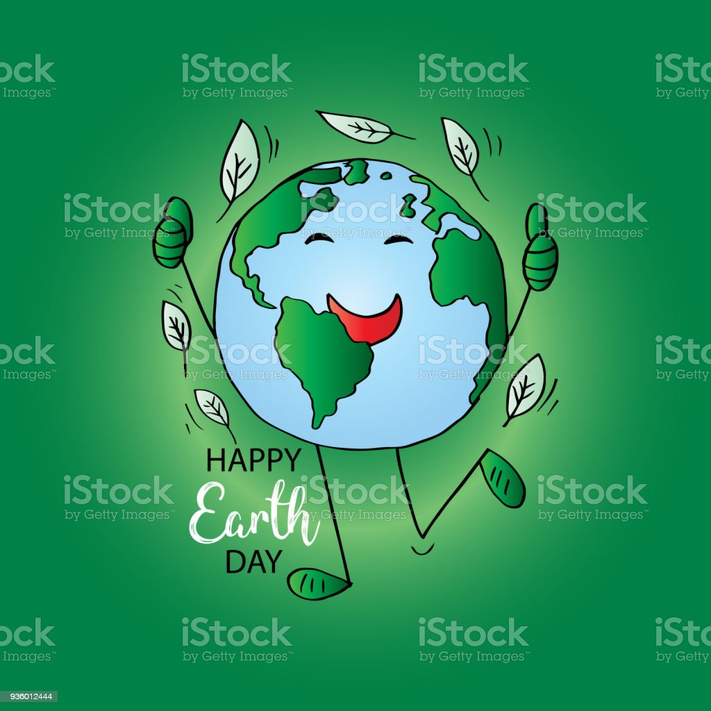 Earth Day Poster Stock Illustration - Download Image Now