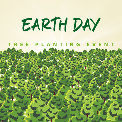 Earth Day Tree Planting Event