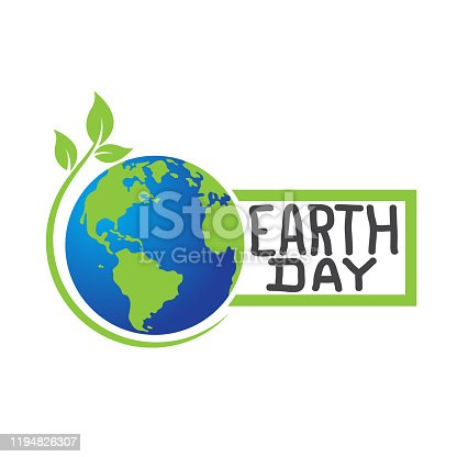 earth day. eps 10 vector file