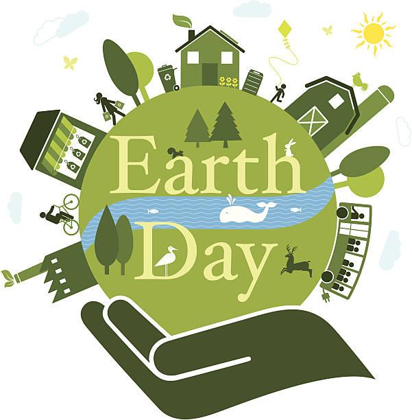 illustrazioni stock, clip art, cartoni animati e icone di tendenza di giorno della terra - composting