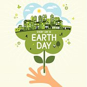 Every day is earth day - flower design