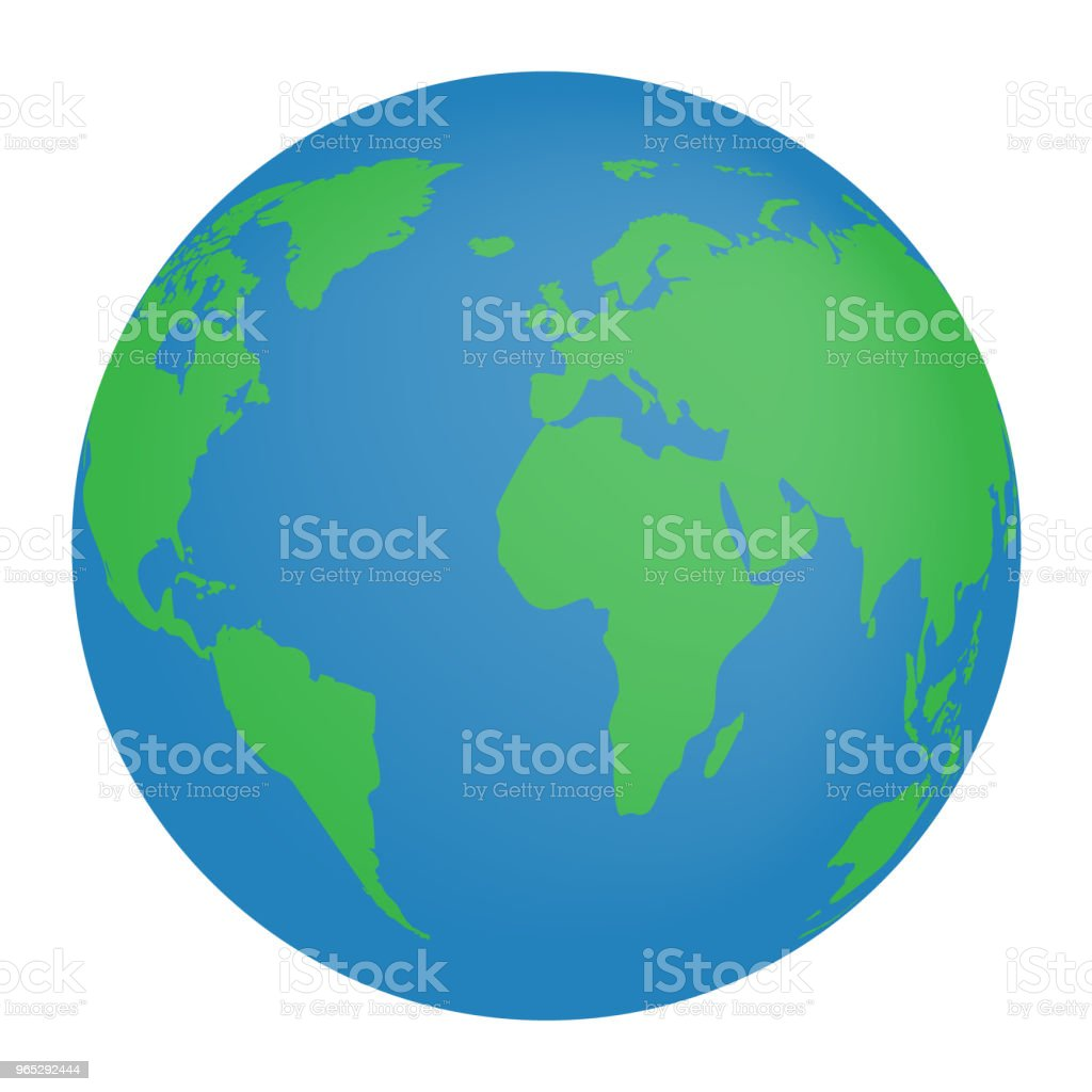 Earth Globe icon royalty-free earth globe icon stock vector art & more images of blue