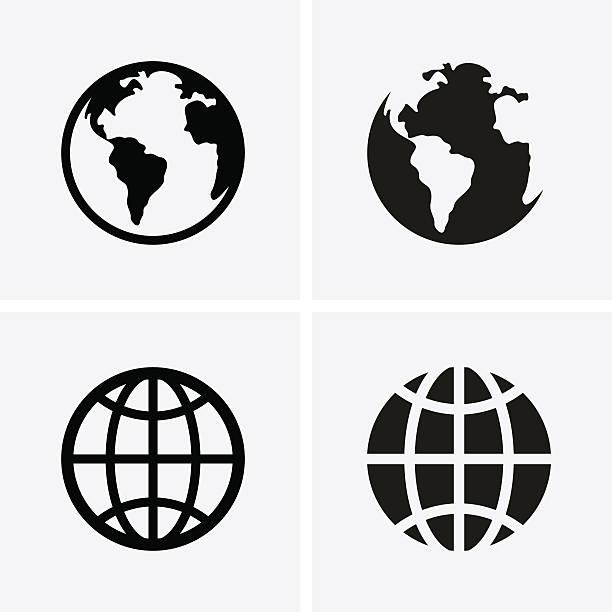 地球地球のアイコン - 地球点のイラスト素材/クリップアート素材/マンガ素材/アイコン素材