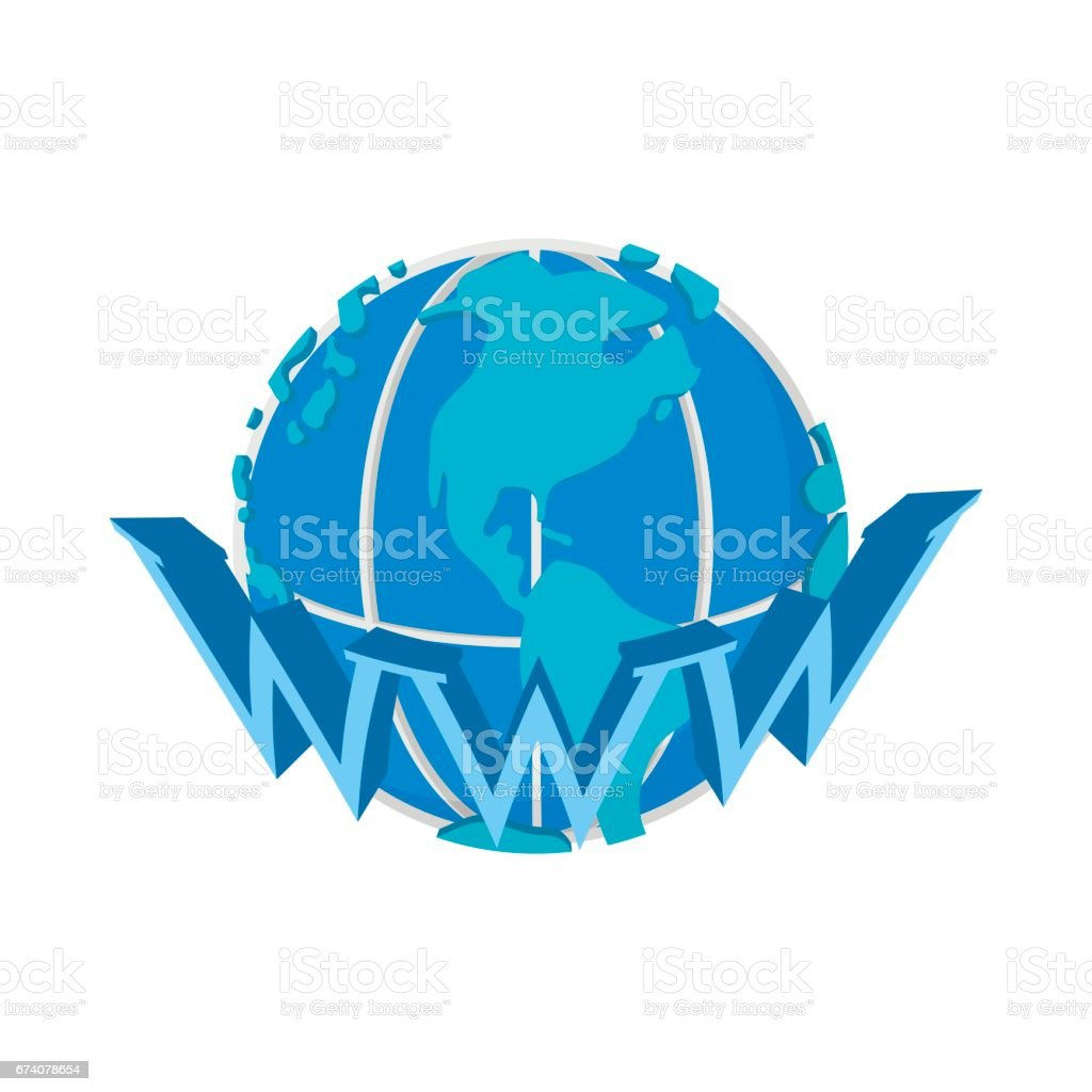 Earth globe internet icon, cartoon style royalty-free earth globe internet icon cartoon style stock vector art & more images of blue