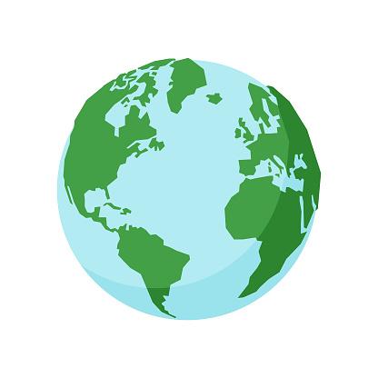 Earth Globe - Immagini vettoriali stock e altre immagini di Acqua
