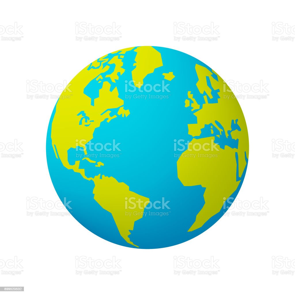 Earth globe royalty-free earth globe stock vector art & more images of blue