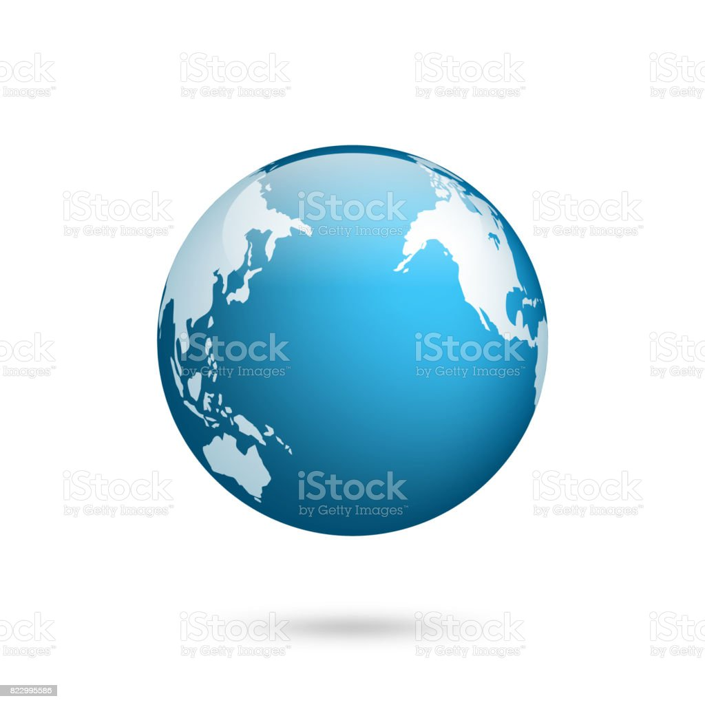 Earth Globe World Map Set Planet With Continentsafrica Asia ... on map of world globe, map of north america globe, map of new zealand globe, map of middle east globe,