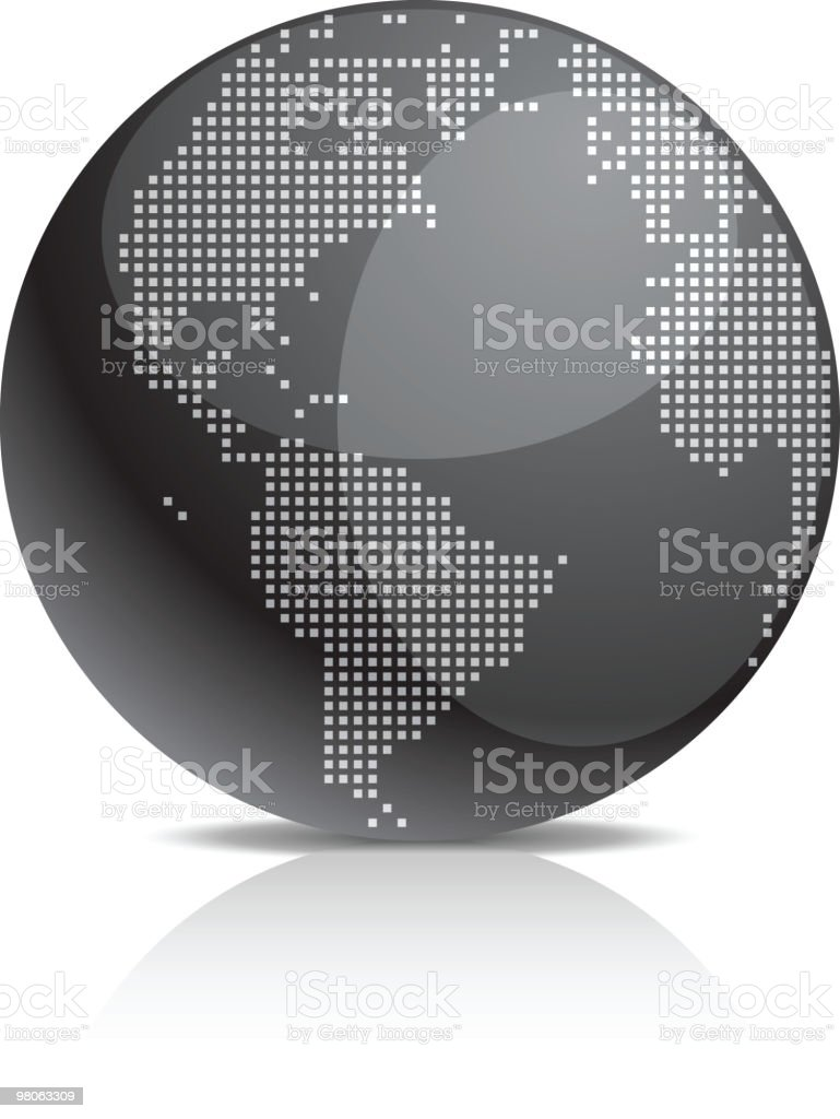 Earth icon. royalty-free stock vector art