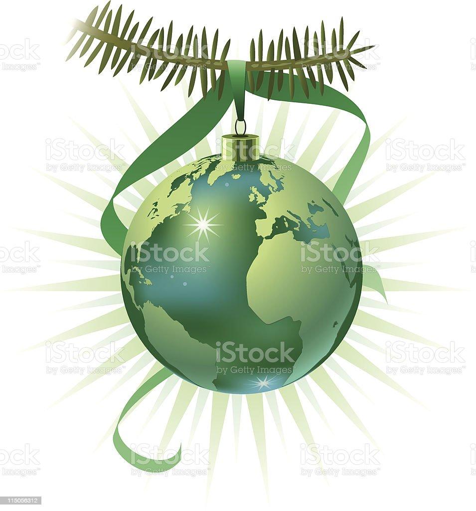 Earth ornament royalty-free stock vector art