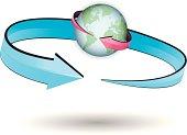 istock earth rotation & translation 455427977