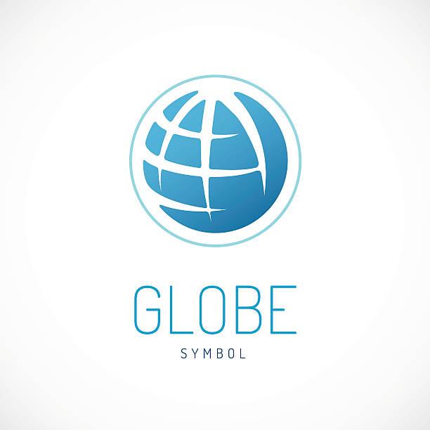 earth sign. globe sign. - 現代 風格 幅插畫檔、美工圖案、卡通及圖標