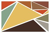 Earth Tone Colors background ,Vector Illustration