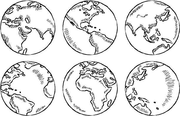 Erde – Vektorgrafik