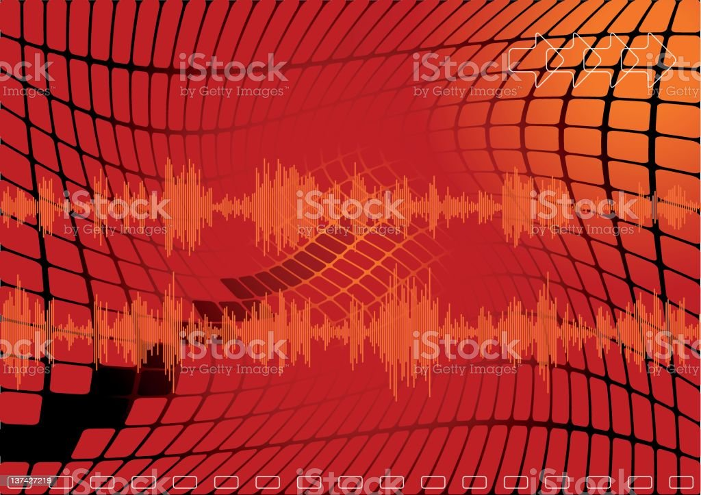 earthquake? no only noise! royalty-free stock vector art