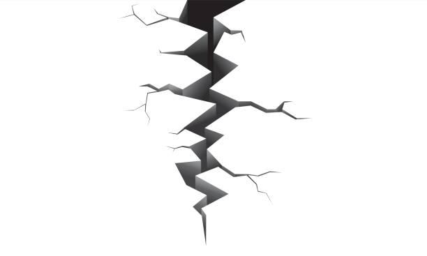 Earthquake white Earthquake white earthquake stock illustrations