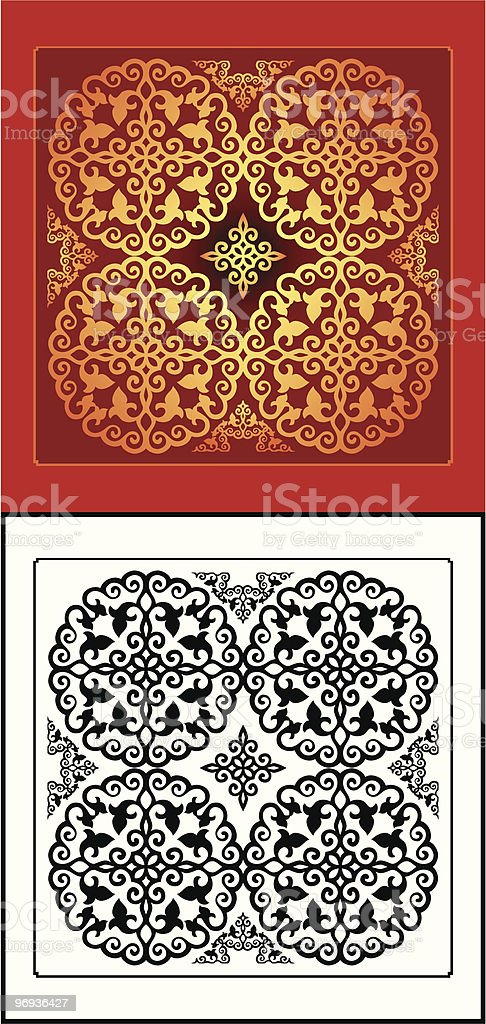 East ornament royalty-free east ornament stock vector art & more images of backgrounds