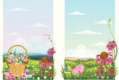 Self illustrated Easter Background.Please see some similar pictures from my portfolio: