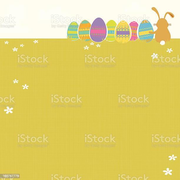 Easter Background Stock Illustration - Download Image Now