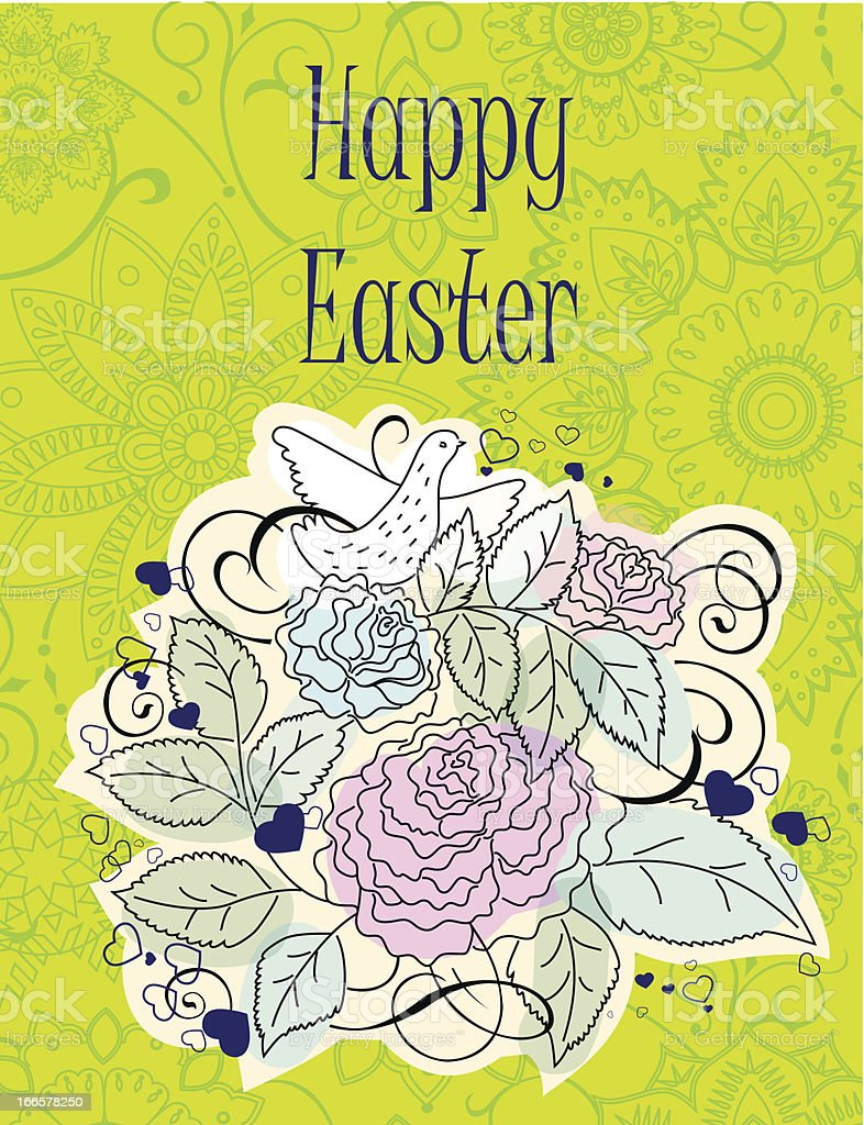 Easter Background. royalty-free easter background stock vector art & more images of animal markings