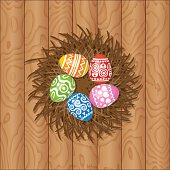 """This is a background of the text for """"Easter""""."""