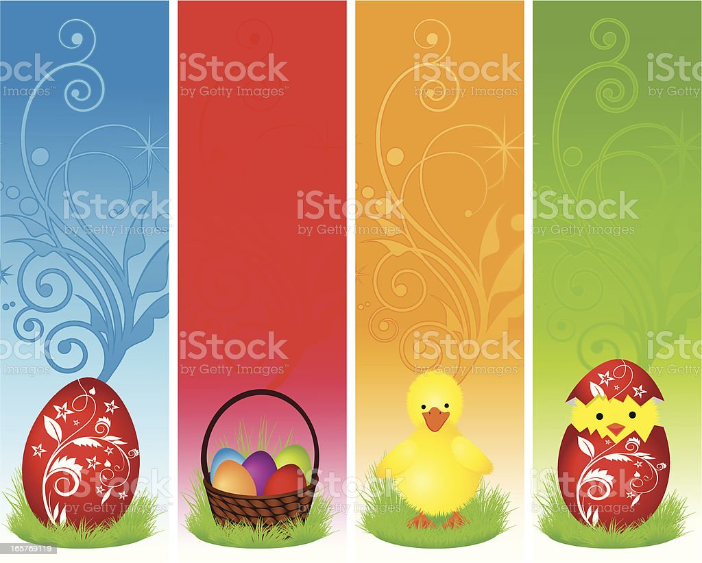 Easter Banner royalty-free easter banner stock vector art & more images of abstract