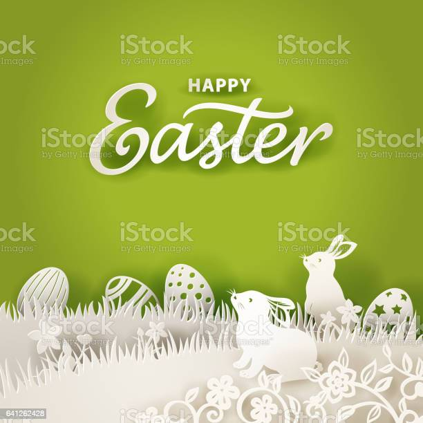 Easter bunnies paper cut background vector id641262428?b=1&k=6&m=641262428&s=612x612&h=nez c6lnlr1s2unkq3tq dvzirzdzswqgfopddwc3gw=
