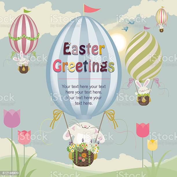 Easter bunnies with hot air balloons vector id512148920?b=1&k=6&m=512148920&s=612x612&h=pn7dwqfzl7irhfoih83n8iexslewiqlwgnewx2uavdc=