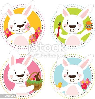 Easter Bunny Badge