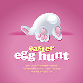 Bunny invites you to join the Easter party and start with an egg hunt game