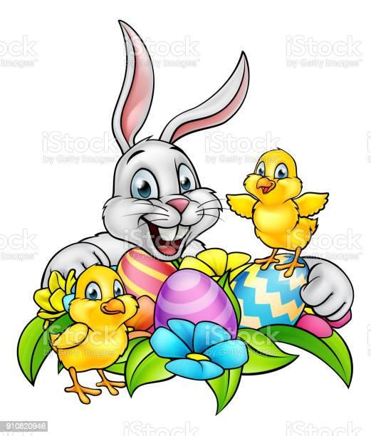 Easter Bunny Wallpaper Free Vector Art 263 Free Downloads