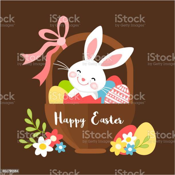 Easter bunny in a basket with eggs vector id654795584?b=1&k=6&m=654795584&s=612x612&h=hxlpz3krnn62e7 xdk9auzsa8n2gp26 awte1ey8kfg=