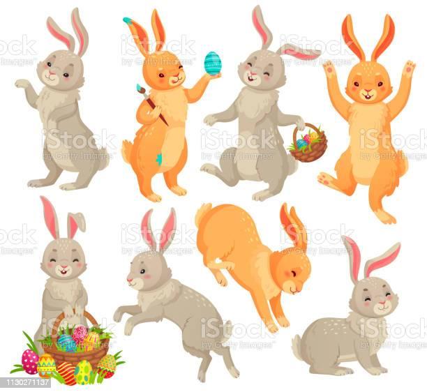 Easter bunny jumping rabbit dancing funny bunnies animals and rabbits vector id1130271137?b=1&k=6&m=1130271137&s=612x612&h=y02pg8kgk8wt53y8gbrcoyww1ivupaij yk6 jkrkpm=