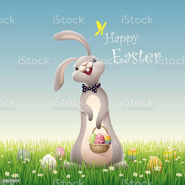 Easter bunny on green grass vector id508216314?b=1&k=6&m=508216314&s=612x612&h=q1ccdxsx08tjl vw88jb8w51kiaua0v4 crl0xitrsw=