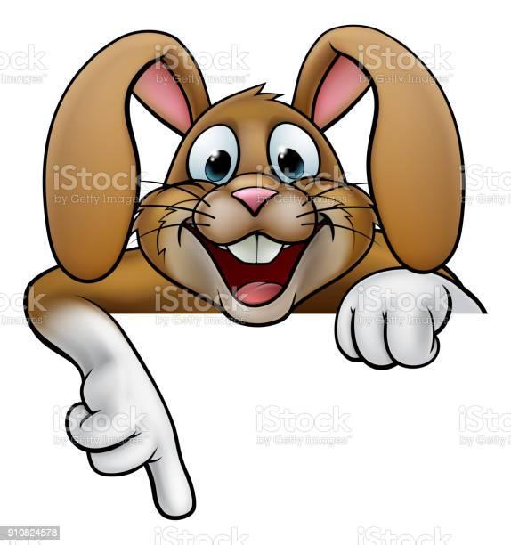 Easter bunny rabbit pointing vector id910824578?b=1&k=6&m=910824578&s=612x612&h=aikp1fky391hmi7scjaljjkf96mrhwdu002kj4soll4=