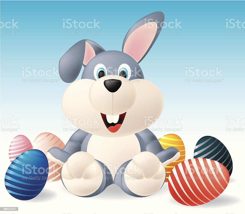 Easter bunny royalty-free easter bunny stock vector art & more images of animal egg