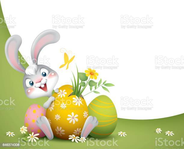 Easter bunny with big eggs background vector id646374008?b=1&k=6&m=646374008&s=612x612&h=do3dhvtjhvyoogvsmmxmvsg wu66tmjkwfduy3vobvy=