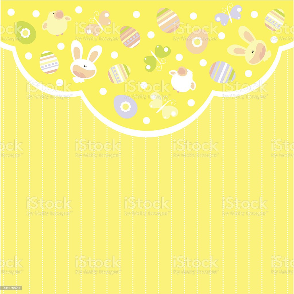 Easter card royalty-free easter card stock vector art & more images of animal