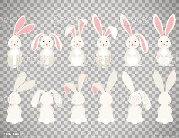 Easter cartoon bunny on transparent background vector id820376004?b=1&k=6&m=820376004&s=612x612&h=ekryt9emsvmxdmhidzx4apc0b53bpag7 z7v3pg0xvs=