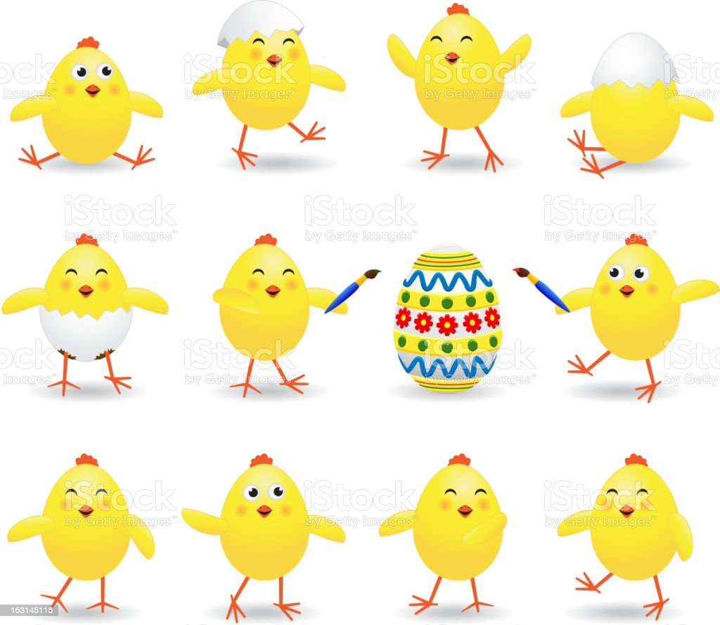 Easter chicks royalty-free easter chicks stock vector art & more images of animal
