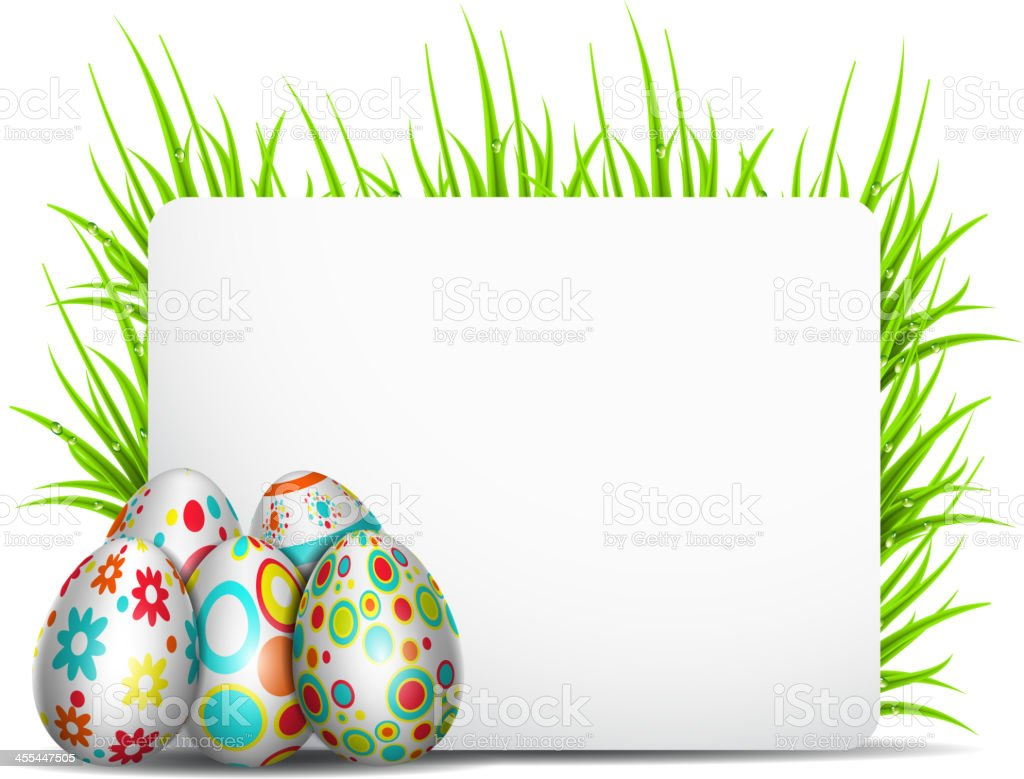 Easter decoration royalty-free stock vector art